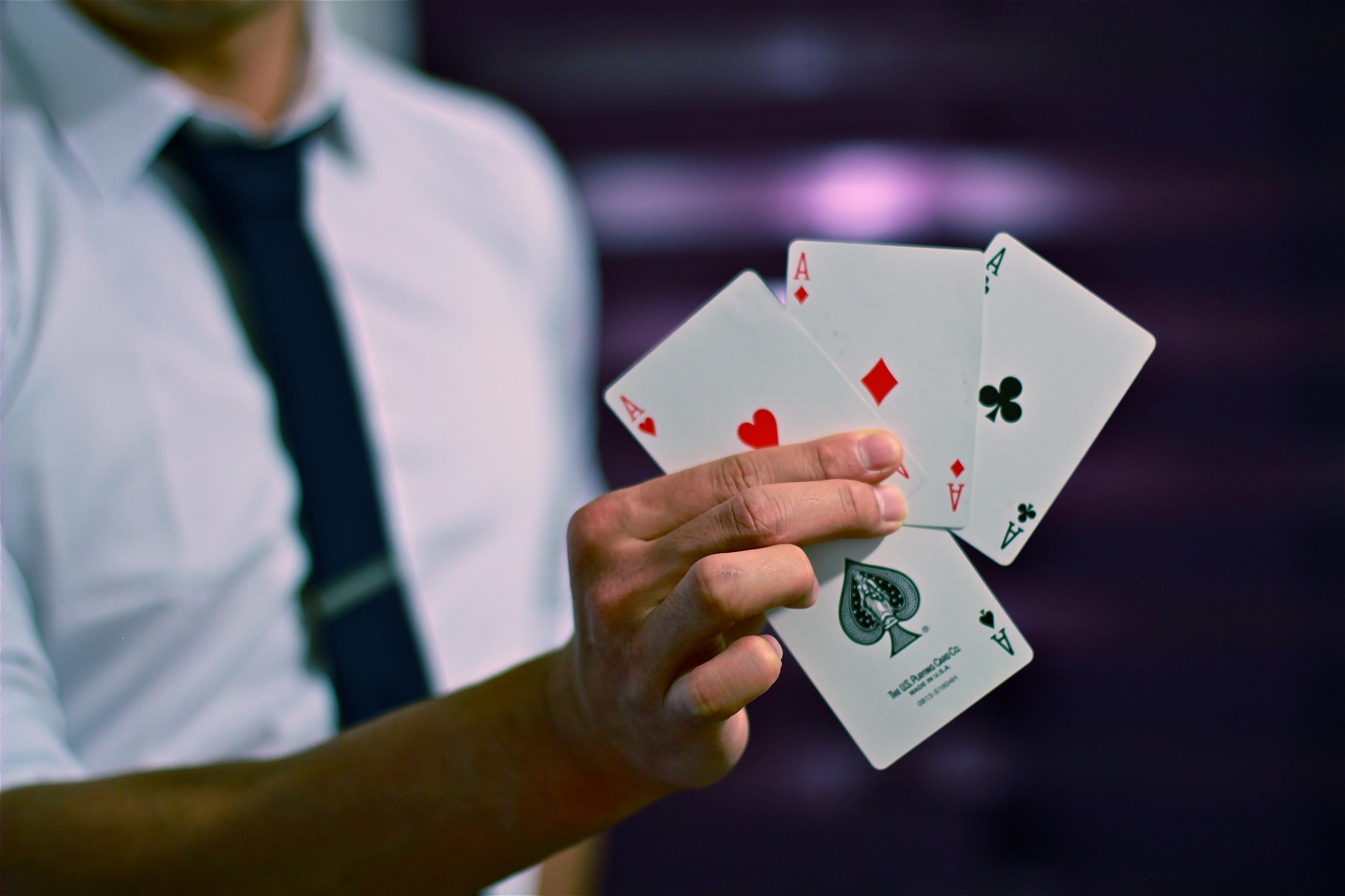 Magicien interdit de casino